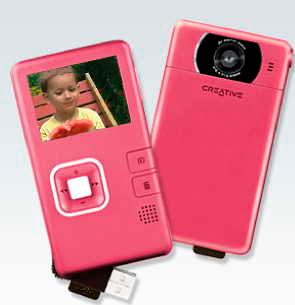 Creative/Vado -Videokamera för fickan
