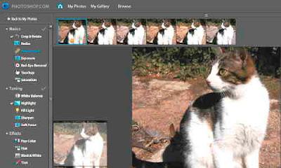 Photoshop.com, Adobe Photoshop.com, gratis onlinetjänst