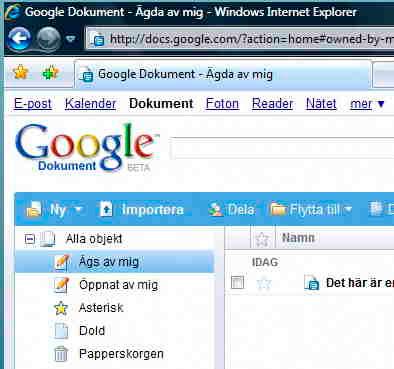 Google Dokument