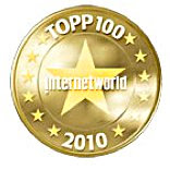InternetWorld Topp100 2010