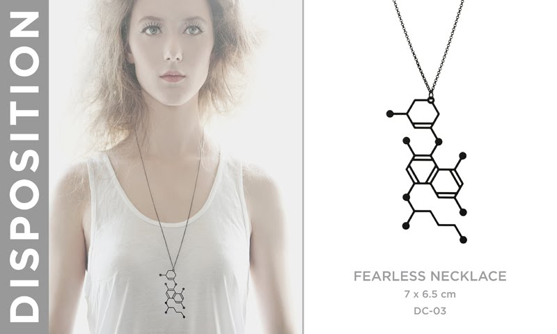 Aroha Silhouettes Disposition Collection Chemistry Jewellery Jewelry Molecules Lookbook