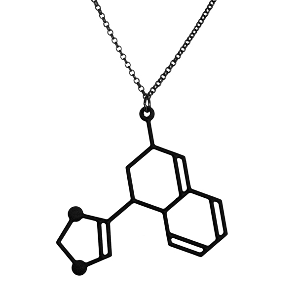 Aroha Silhouettes One Of A Kind Jewellery Necklace Molecule Science Jewelry