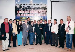 Colegio de notarios de ica se realizar la i jornada notarial registral internacional peruano - Colegio de notarios de barcelona ...