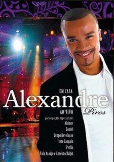 Dvd Alexandre Pires - Em Casa ao Vivo