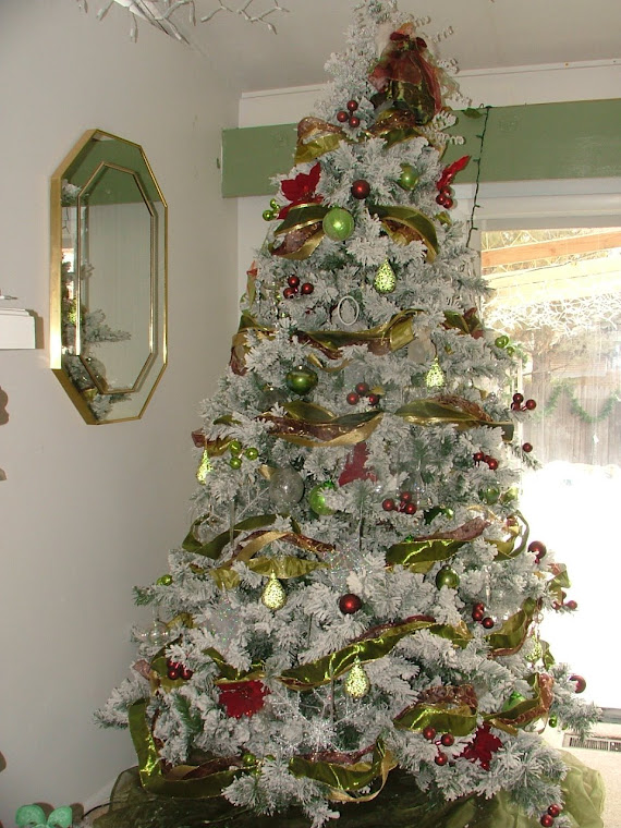 Lime and Burgandy Tree 2007