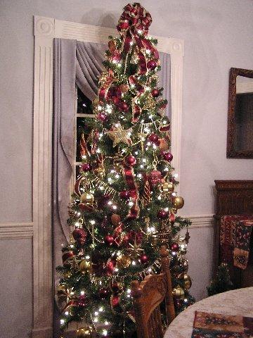 Kathy K Burgandy and Gold Tree