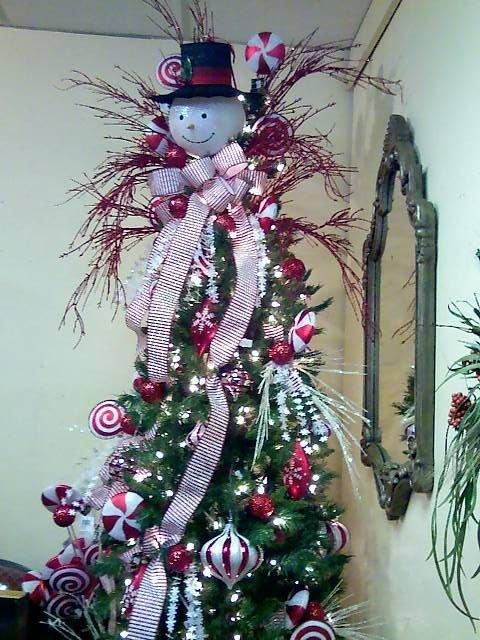 Kathy K Snowman Tree