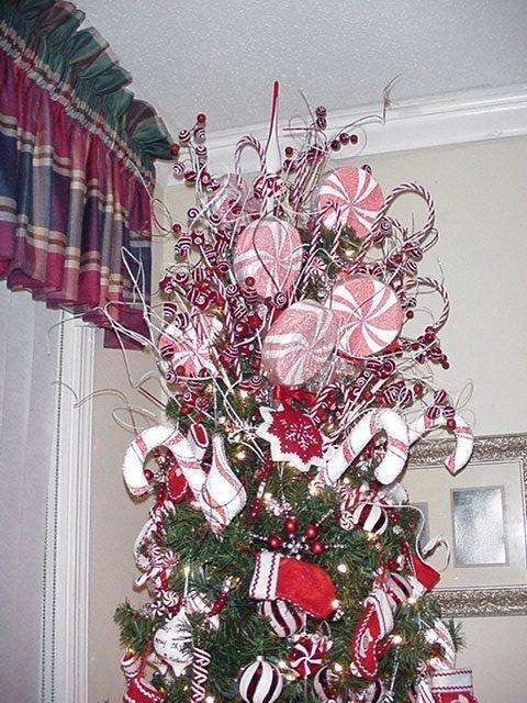 Diane Peppermint Tree Topper