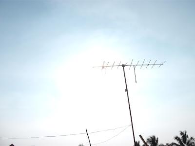 Antenna in a Sunshine