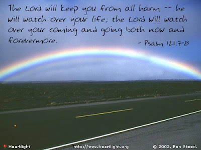 the Lord bless you and watch over you