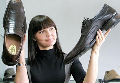 Leonid Stadnyk Shoe Size