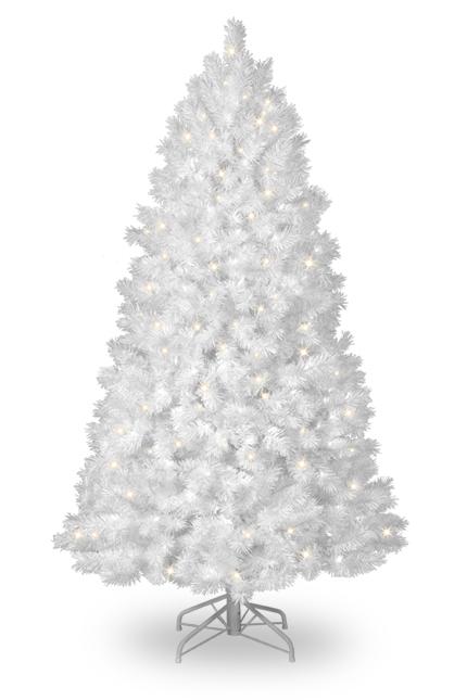 Home Christmas Decoration: White Christmas Tree