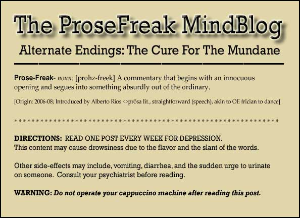 ProseFreak The Literary MindBlog