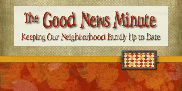 The Good News Minute