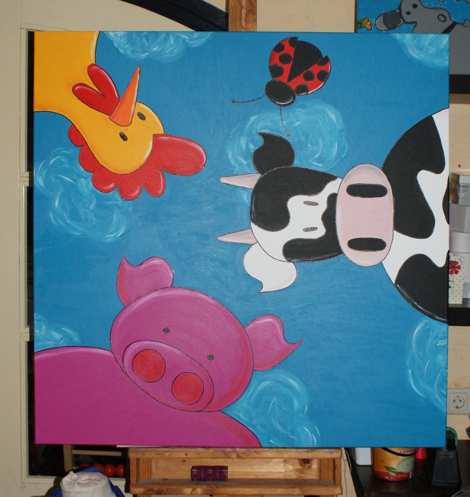 Babykamer schilderen ideeën: kinderkamer babykamer kinderen baby ...