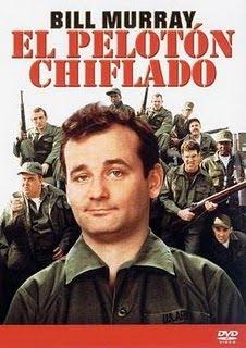 El Pelotón Chiflado(Stripes) Poster