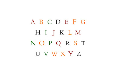 bembo zoo alphabet