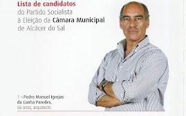 Candidatos PS à Eleição da Câmara Municipal de ALCÁCER DO SAL