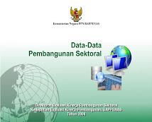 Data Pembangunan Sektoral