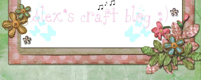 Alex's craft Blog