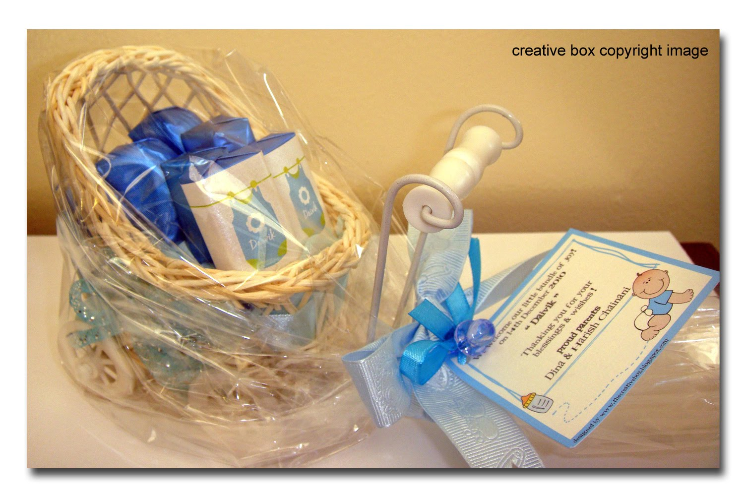 Creative Box Baby Announcement Pram It S A Boy