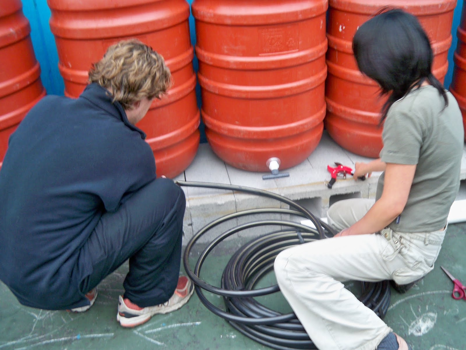 Sf sewer blog learn how to make your own rain barrel system for How to make your own rain barrel system