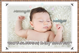 CUTE SLEEPING BABY CONTEST