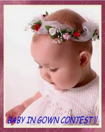@ BABY IN GOWN CONTEST @