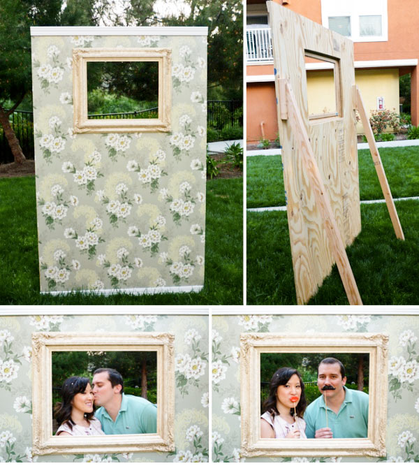 Photo Booths For Weddings: Mostaza Seed: DIY Photobooths, Say Cheese