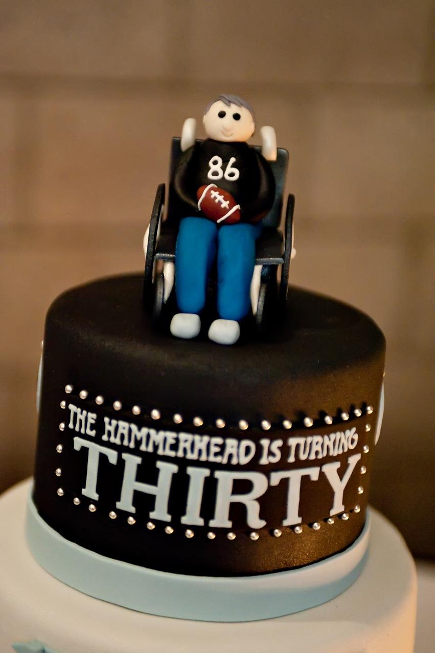 The Good Apple Todd Heap Th Birthday Cake - 30 year old birthday cake
