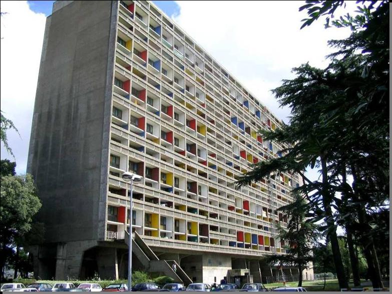 La Cite Radieuse Le Corbusier