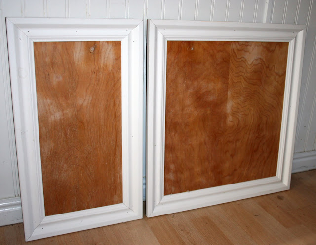 how to turn flat cupboard doors into pannelled