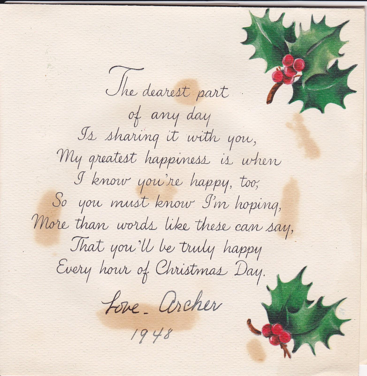 Madelines Memories Vintage Christmas Cards