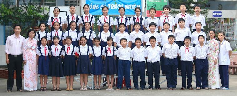 Lớp Năm 2 - Trường tiểu học Trưng Trắc