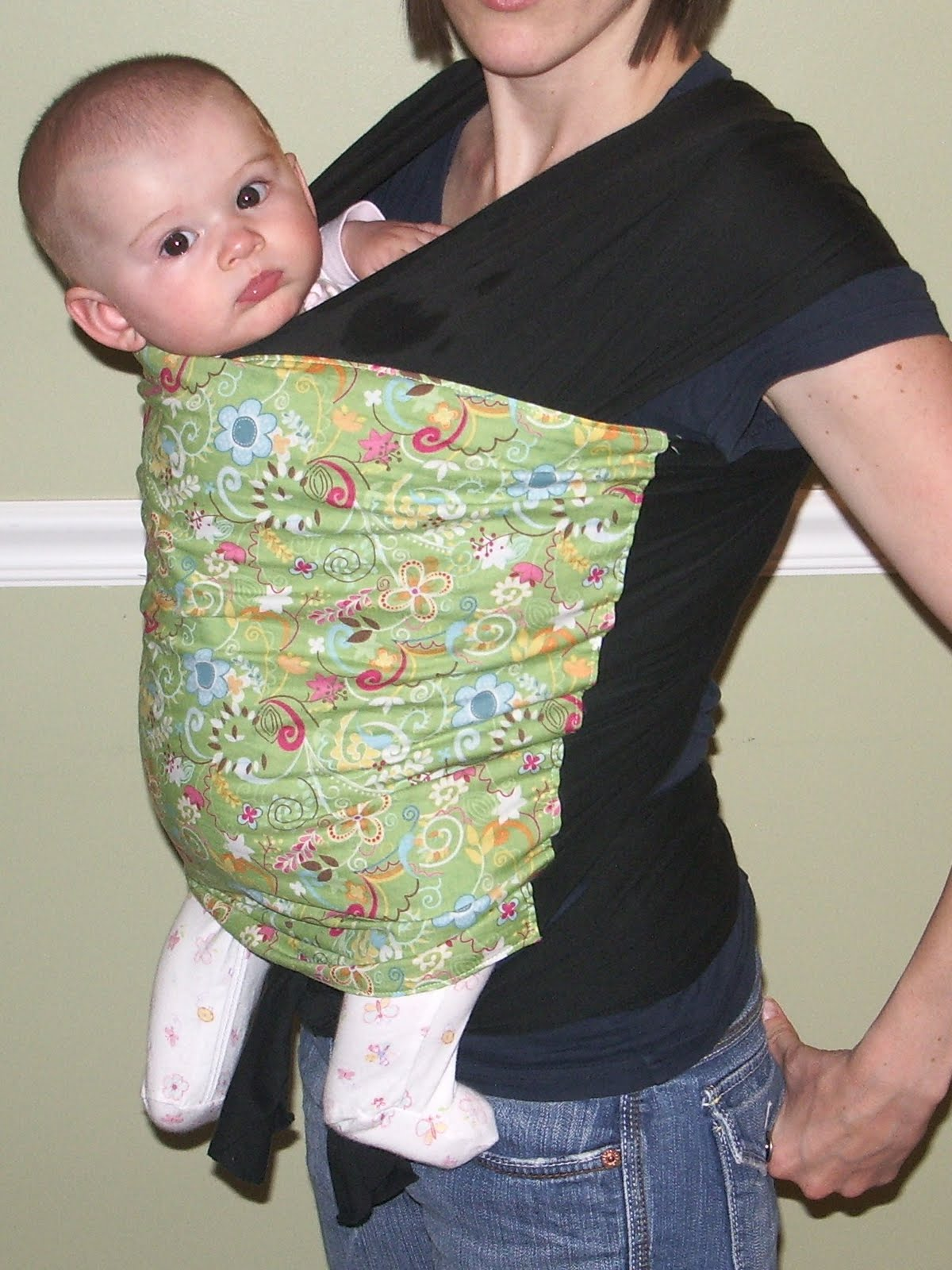 how to make a baby wrap diy