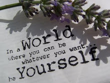 In a world where you can be whatever you want... Be yourself