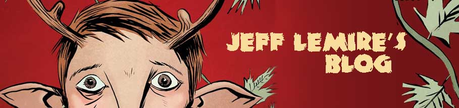 Jeff Lemire's Blog