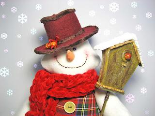 домовитый снеговик