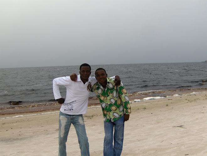 Hervé et son frère Robeland