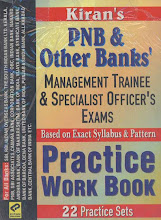 PNB & Other Banks Management Trainee & Specialist Officer's Exam