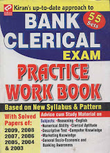 Bank Clerical Exam Practice Work Book
