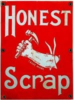 The Honest Scrap Award.