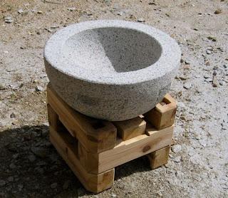 万成石の石臼