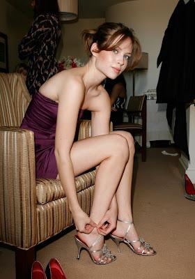 Hot College Girls high heels