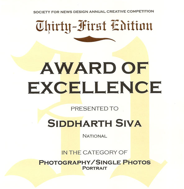 Siddharth sivas blog award of excellence award of excellence in the photographysingle photos portrait category i am very excited and a big thanks to clint mclean and kristine bacharach at the altavistaventures Image collections