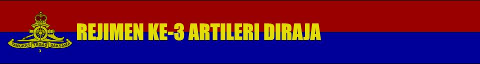 Rejimen Ke-3 Artileri Diraja