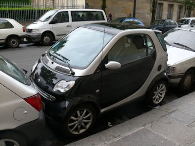 is boxing in the Smart Car