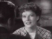 Screenshot of Katharine Hepburn from the trailer for the film Little Women