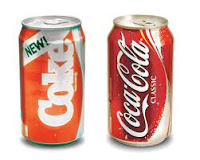 New Coke vs. Classic Coke