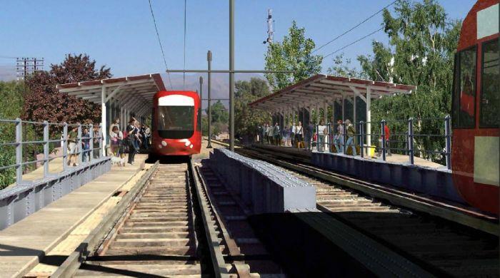 El Metrotranvía Urbano de Mendoza